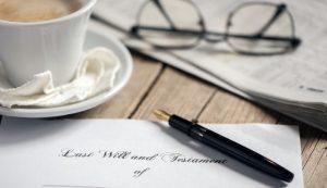 testamento olografo come si scrive